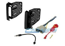 CAR STEREO RADIO INSTALL KIT DASH TRIM BEZEL W/ ANTENNA ADAPTER & WIRING HARNESS