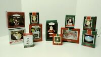 11 Assorted Vintage Hallmark Keepsake Christmas Ornaments w Original Boxes - C