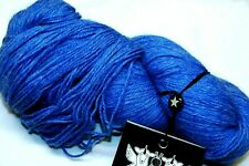 $43 CRATER LAKE BLUE 8oz 660yd Galler HEATHER PRIME S-fine ALPACA Luxury DK YARN
