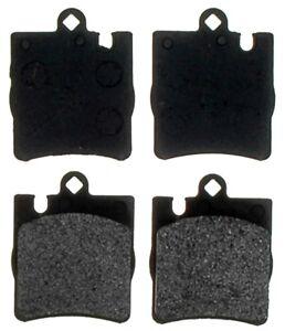 Premium Disc Brake Pad Set-Semi-Metallic Rear|ACDelco Advantage 14D873M