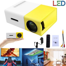 1080P Mini HD LED Projector Home Cinema Theater Multimedia PC USB TV AV DVD U2S1