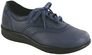 SAS Women's Shoes Walk Easy Indigo Blueberry Many Sizes And Widths New In Box