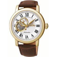 Relojes de pulsera automático Seiko de cuero