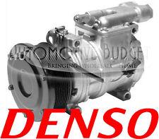 A/C Compressor w/Clutch for John Deere - 10PA17C 8GR 125mm 24v - NEW OEM
