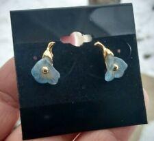 """Vintage Avon Flower Bells, gold toned, earrings 3/4"""""""