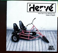 Herve / How Can I Live Without You - CD Promo - MINT