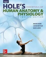 NEW Shier, Hole's Essentials of Human Anatomy & Physiology © 201.. 9780021374984