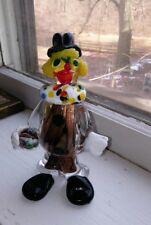 Vintage Clown Murano Venetian J.I. Co. Art Glass