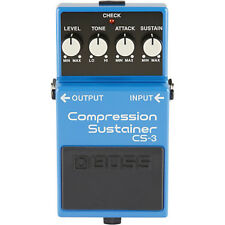 BOSS CS-3 Compression Sustainer GUITAR EFFECTS PEDAL w/ Free Pick