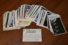 Panini. Tennis 1992. pick, select, choose, aussuchen 5 stickers