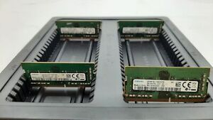 LOT 4 SAMSUNG M471A1K43CB1-CRC 8GB DDR4 PC4-2400 19200 NON ECC SODIMM MEMORY RAM