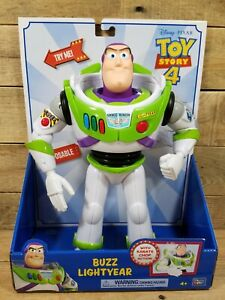 Toy Story 4 Buzz Lightyear with Karate Chop Action & Posable - Brand NEW
