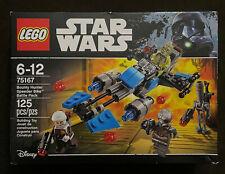 LEGO Star Wars Bounty Hunter Speeder Bike Battle Pack 75167 Retired NEW