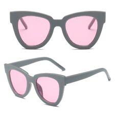 Women Lady Retro Cat Eye Sunglasses Designer Square Frame Eyeglass Shades New