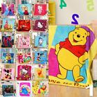 Cartoon Smooth Flannel Blankets Kids Throws Baby Smooth Mats/Rugs Fast Shipping+