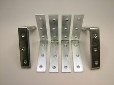 Right angle L bracket corner brace 105x24mm fixing support bracket, pack of 10