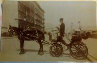 Foto Napoli Via Partenope 1890 ca. 14,5 x 9,0 cm (P439) Come da foto