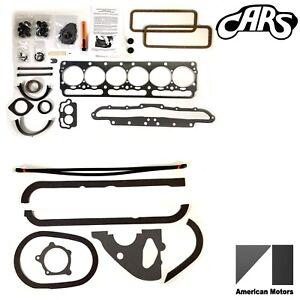 1956-1965 AMC Rambler 196 OHV | Full Engine Gasket Set | Best Gasket