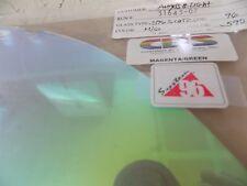 """Dichroic Glass Sheet:CBS 96 COE Magenta/Green on Thin Clear 3"""" Sq"""