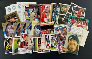 Job Lot of Football Cards and Stickers - Qty 50