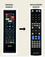 RM-Series® Replacement Remote Control For Seiki SE40FD01UK