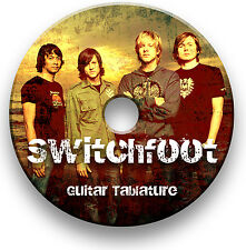 SWITCHFOOT ROCK GUITAR TAB TABLATURE SONG BOOK SOFTWARE CD