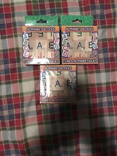 Wooden Alphabet Blocks Set Kids ABC 27 Pieces (3 boxes of 9) Toddler Toy/Gift