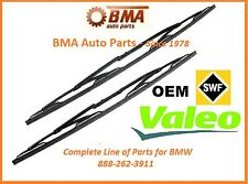 BMW E39 525i 528i 530i 540i M5 Front Windshield Wiper Blade Set VALEO 1997-2003