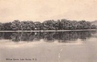 Postcard Willow Grove Lake Keuka NY