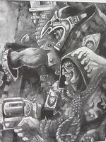 KLASSISCH METALL NECROMUNDA CAWDOR GANGERS INDIVIDUELL NICHT LACKIERT (639)