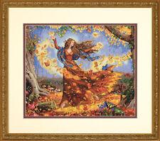 Dimensions Cross Stitch Kit - Fall Fairy