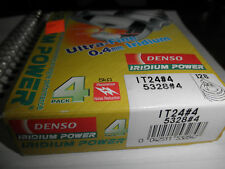 4 DENSO IRIDIUM POWER IT24 SPARK PLUGS