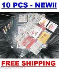 ( 10 ) Coupon Sleeves Holders for binders, baseball cards, pokemon, yugioh sport