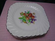 "Johnson Brothers Snowwhite Regency Fruit Plates (6) 7 1/2""   JB695"