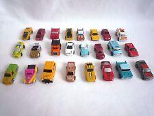 BUNDLE OF 24 SMALL CARS / MICRO MACHINES , MICRO HOT WHEELS & SIMILAR CARS