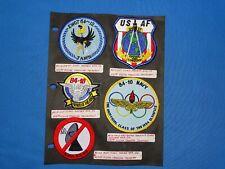USAF / USN Training FTS Squadron Patch Lot (#20)