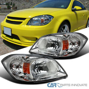 For Pontiac 05-06 Pursuit 07-09 G5 05-10 Cobalt Clear Lens Headlights Head Lamps