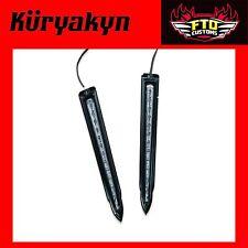 Kuryakyn Black L.E.D. Rear Saddlebag Accents for H-D '93-'17 Touring 6907