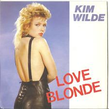 Kim Wilde - love blonde vinyle disque 45t disque rak 1983 original