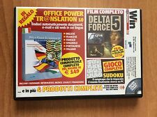 DVD WIN MAGAZINE 80  per PC  film DELTA FORCE 5