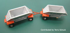 N Scale Double Aggregate Hoppers Kit by Showcase Miniatures (24)