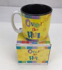 Burton+Burton Over the Hill Multicolor Mug - New in Box