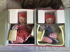 Marie Osmond Cuddle Me Huggs And Kissy Twins Raggedy Ann and Andy