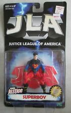 MOC 1999 HASBRO JUSTICE LEAGUE OF AMERICA YOUNG JUSTICE SUPERBOY ACTION FIGURE