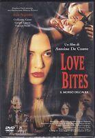 Dvd «LOVE BITES ♦ IL MORSO DELL'ALBA» con Asia Argento nuovo 2003