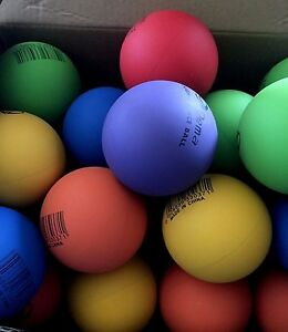 6 x High Bounce Ball Rubber Bouncing Ball 6 Colors  Assorted New (p2)