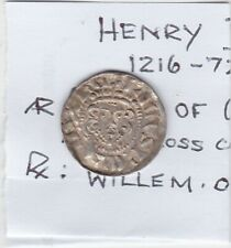 More details for henry iii 1216 to 72 silver long cross penny coin in extremely fine condition
