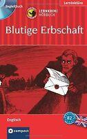 Blutige Erbschaft. Compact Lernkrimi Hörbuch. Englisch N...   Buch   Zustand gut