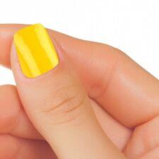 Smalto Unghia Nail Polish Art Effetto Gel Colore Giallo Oro Perlato Rinforzante