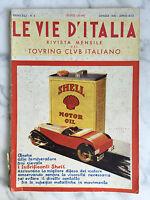 La Vida Italia Rivista Mensile Del Touring Club Italiano 1935